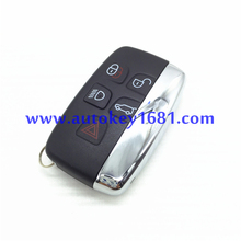 car key 5 button remote key shell for land rover range rover Aurora discover 4 smart car key best quality