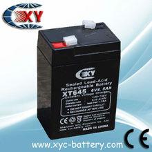 6v 4.5ah battery,rechargeable battery 6v4.5ah
