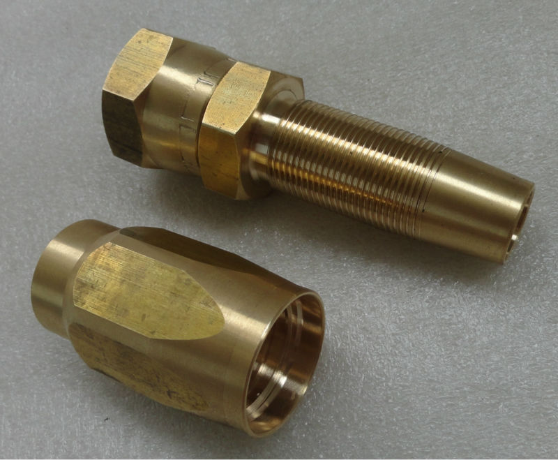 Brass jic reusable fitting buy hydraulic fittings