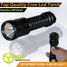 rechargeable led strong light torch flashlight with five bright functions