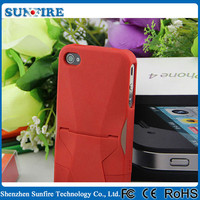 Factory Wholesale Transformers rugged armor case for iPhone 4 / 5 / 6 with stand
