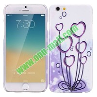 Heart Tree Romantic Pattern Hard Case for iPhone 6 5.5 Inch