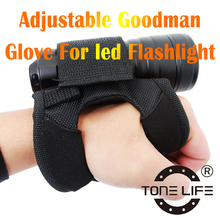 Scuba Diving Soft Goodman Glove Goodman's Glove for hands-free with Diving Torch Diving Gear
