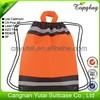 Cheap promotional business mini linen drawstring bag