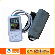 ABPM50 CE Approved free analyzer software 24 hours recording time ambulatory blood pressure monitor made in China
