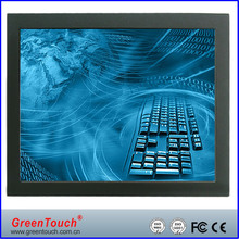 32 inch Open Frame industrial LCD Monitor VGA/DVI interface, touch monitor for digital signage and kiosk