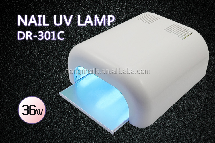 36 W uv nail gel sèche lampe avec ventilateur