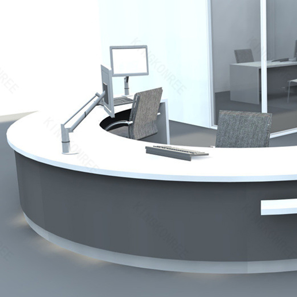 Desk - Buy Half Round Small Reception Desk,Small Reception Desk