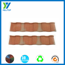 Sand coated roof tile/metallic tile sheets
