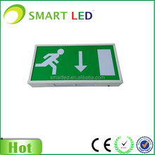 lithonia edge lit exit sign SAA CE ROHS 3 years warranty led acrylic exit sign led emergency exit sign