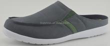 latesm new design about men's canvas sandals shoes