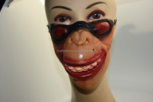 Halloween horror masks /Latex Half Face Mask with Glasses decoration for party