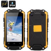 J5 Smallest Waterproof Phone - 2.4 Inch Display, Dual Core CPU, Dual SIM, IP54 Rating