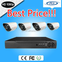 Best price 4ch 1080P HD SDI complete cctv system surround view camera system first wall security system