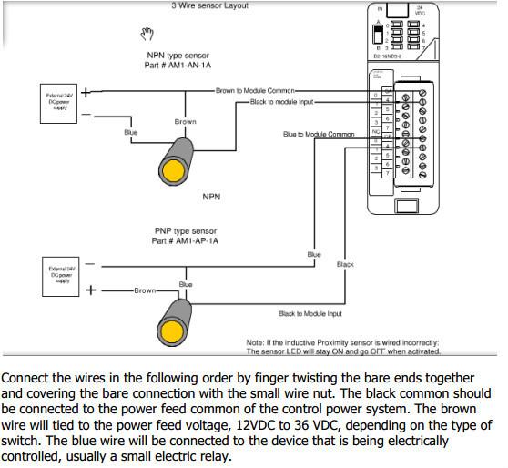 Inductive Proximity Sensor 3 Wire Wiring Diagram - Schematic Diagrams