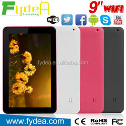 Android 4.4 Super Smart Tablet PC Price China,9 Inch Android Tablet PC Wifi