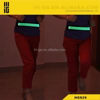 2015 hot sale wholesale USB led reflective waist belt