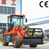 Tl1500 Farming animal hay forklift with telescopic boom