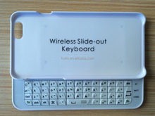 2014 new arrival mini bluetooth keyboard bluetooth slide out keyboard for iPhone 6