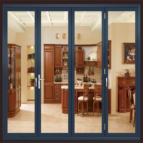 Aluminio bi puerta plegable plegable precio de la puerta - Fabrica de puertas plegables ...