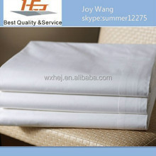 Ship from China!6Pcs luxury brand king size white hotel bed sheet