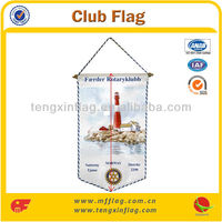 Hot Selling 2014 Wholesale Sports Flags Hanging Flag Fan Flag