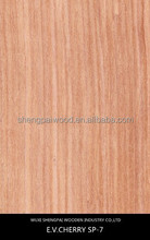 china grade quality cherry mdf wood veneer sheet for wooden door,flooring,wall decoration laminated plywood face skins