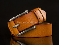 Leather belt manufacturer young man belt design your own belt