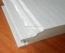 Anti-fire Wall Polyurethane / PU Sandwich Panel for cold room thickness 50 - 75mm