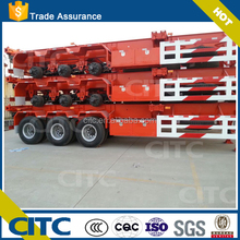 CITC 20ft/40ft container chasis gooseneck trailer