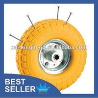 PU Foam Trolley Wheel Puncture Proof Tire