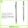 Ball Point Writing Pen 2 In 1 Rubber Tip Stylus Pen For Iphone Ipad Tablet Pc Smartphone