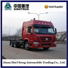 Chinese heavy truck 371hp and 380hp tractor truck HOWO 6X4