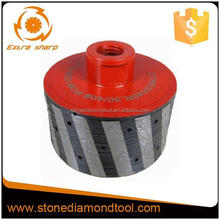 Zero Tolerance Resin Diamond Grinding Drum Wheel with 40mm Length