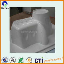 PVC extruded sheet for offset