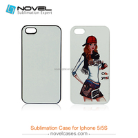 Low Price Sublimation Cell Phone Case For iPhone5/5S,DIY Blank Mobile Phone Case