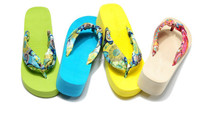 2015 ladies stain strap eva wedge wedding sandals