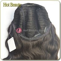 "Big Cap Large Density 12""-32"" Lace Wig Black Human Hair Wigs"