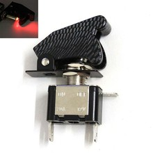 BJ-SW-003 High quality 12VCarbon LED light electronic cruise control motorcycle
