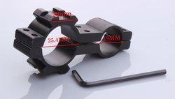 25mm hunting mount Picatinny for Flashlight rifle scope 19mm x 25mm laser gun scope mounts