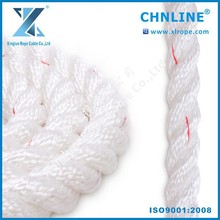 CHNLINE 3-strand baler twine/packing rope twine/colored 3-strand twisted polyester rope