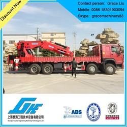 telescopic boom truck mounted crane manufacturer
