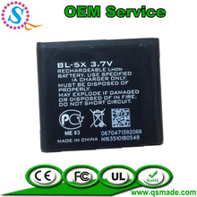 gb t18287-2000 mobile phone battery 8800 8801 for NOKIA BL-5X