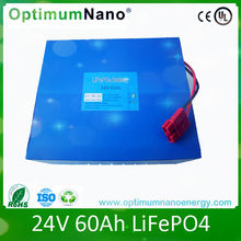 Wholesale 24v 60ah lithium ion batteries for kid car/golf cart/solar system/marine/ups with charger and UL/CE