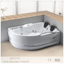 Double Seat Hydromassage european style Massage Bathtub