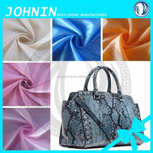 210t taffeta clothes lining fabric bags with white colour