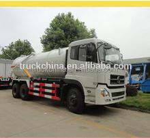 Dongfeng 6 x 4 vácuo caminhão de sucção de esgoto