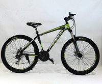 26 aluminum alloy frame mountain bike bicycle, 26 inch 21 speed aluminium alloy MTB bike / bicycle