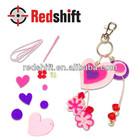en71 criar seu próprio felt keychian coração brinquedo da criança