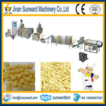 Small scale automatic puffed food making machinery